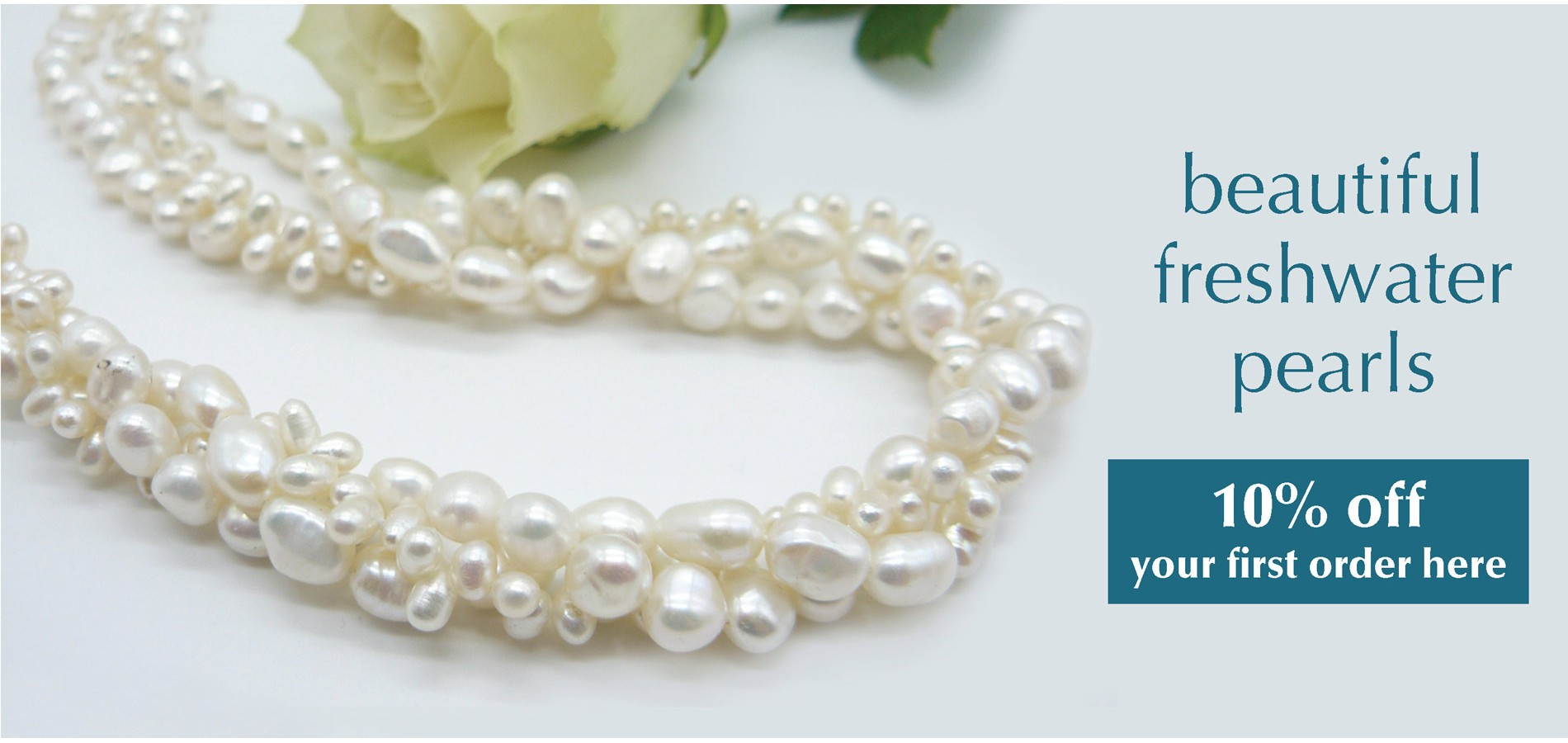 Beautiful freshwater pearls
