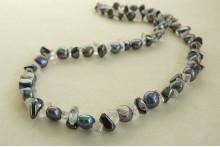 Grey Pearls & Hematite Necklace