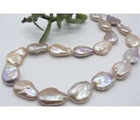 Pink Baroque Pearl Necklace