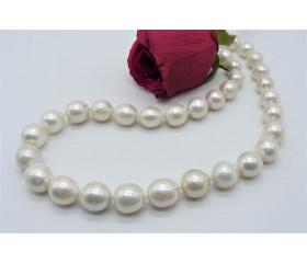White Edison Pearl Necklace