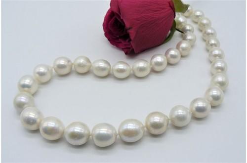 White Edison Pearl Necklace