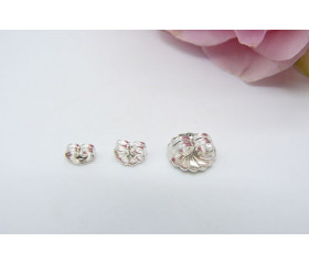 Sterling Silver Earring Scroll Backs - Three Sizes