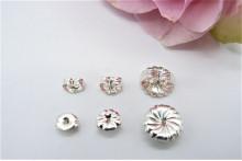 Sterling Silver Earring Scroll Backs - Three Sizes