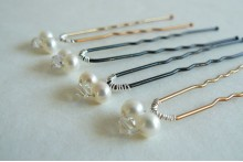 Hairpins - Rose x 1