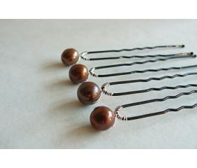 Hairpins - Iona Bronze x 1