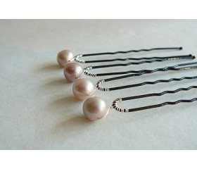 Hairpins - Iona Pink x 1