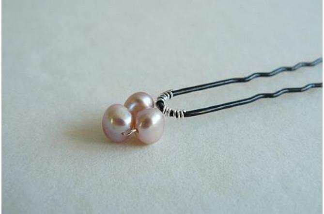 Hairpins - Iris Pink x 1