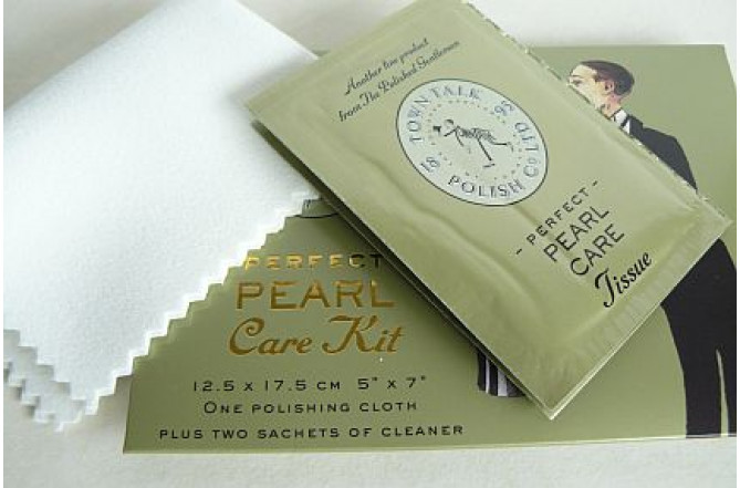 Pearl Care Kit & Polishing Cloth