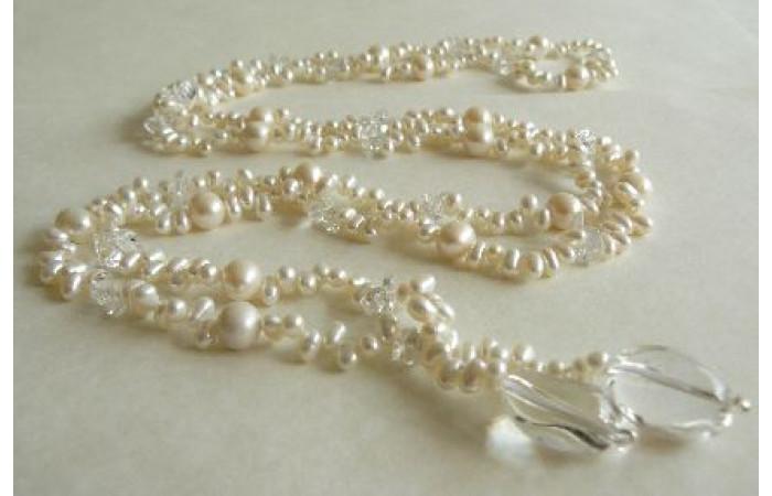 White Pearl Lariat